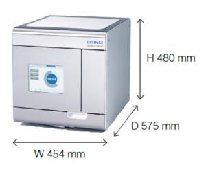 Getinge Quadro_sterilisaator-autoklaav-moodud