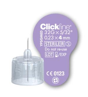 Clickfine insuliininõel 4mm