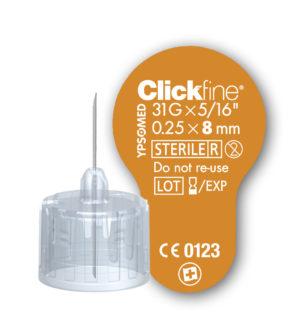 insuliininõel Clickfine 8mm