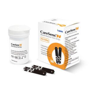 Glükomeetrid, testribad